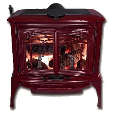 Wood Stoves & Pellet Heaters : Pedestal & Cast Iron : Shop